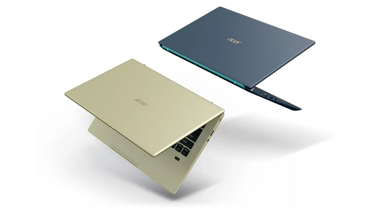 Design do Acer Swift 3x. (Foto: Divulgação/Acer)