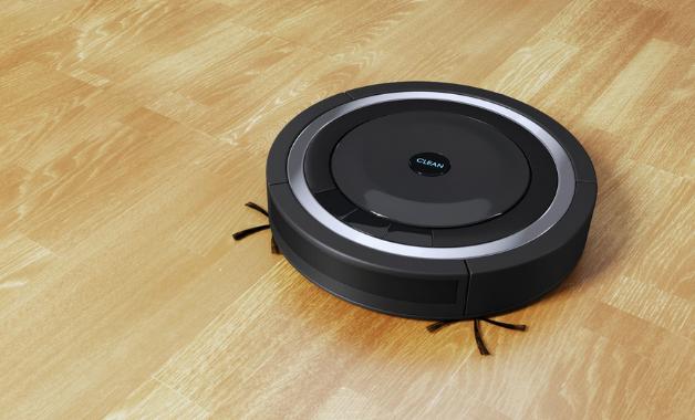 Os aspirador de pó robô vem com mini cerdas para limpeza de cantos e frestas. (Imagem:Reprodução/Shutterstock)