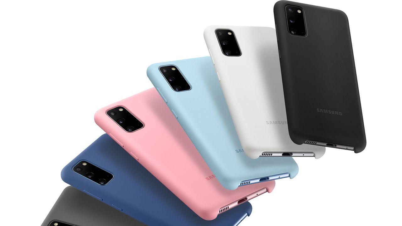 Capa para celular de TPU para o Galaxy S20, da Samsung (Foto: Divulgação/Samsung)