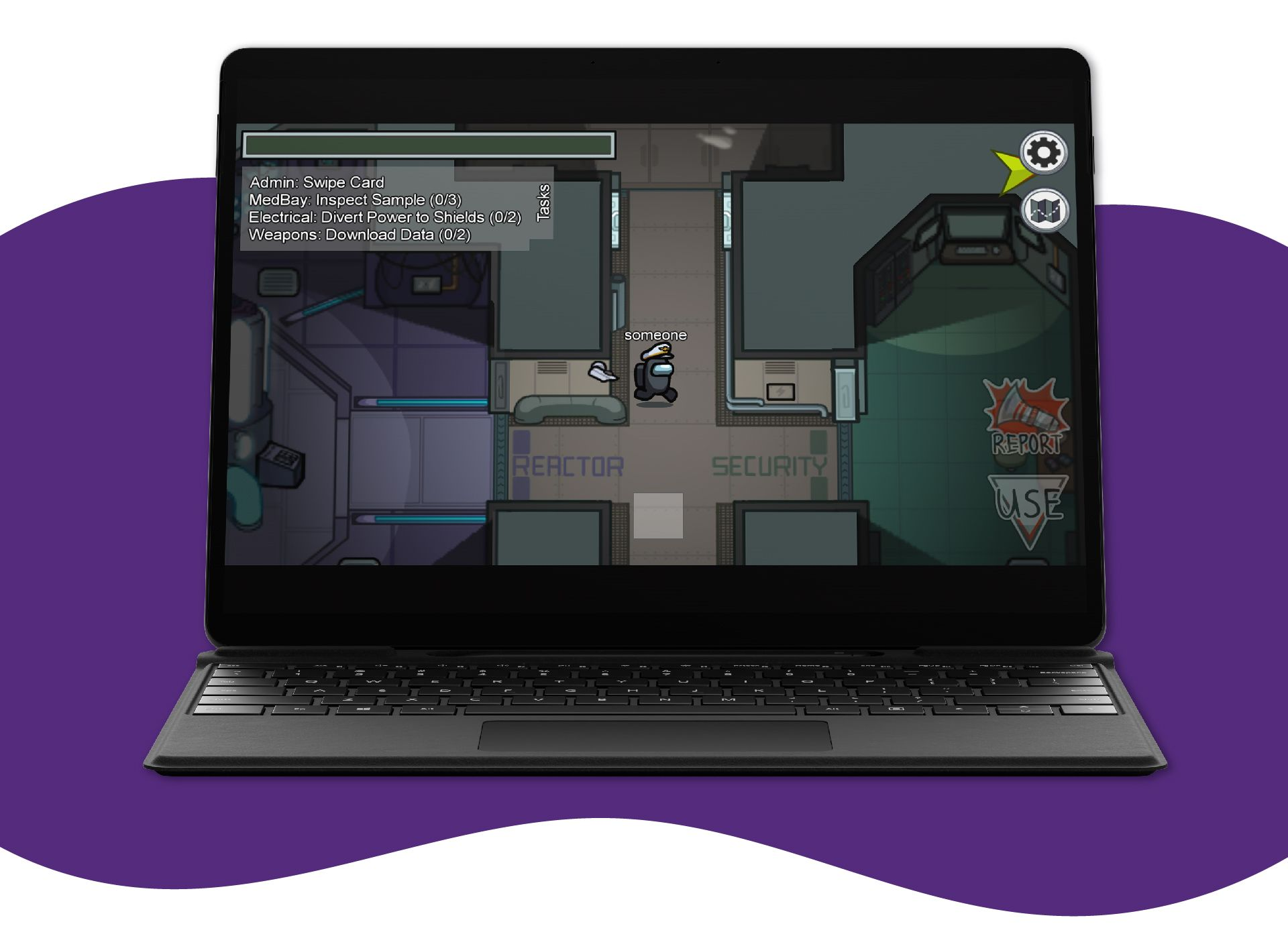 Você tem como baixar Among Us de graça no PC pelo emulador BlueStacks (Foto: Reprodução/Among Us)
