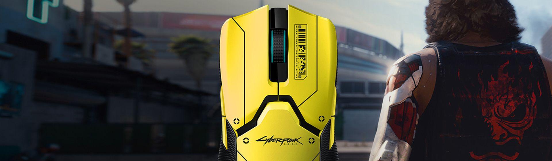 Razer anuncia mouse Viper Ultimate temático de Cyberpunk 2077