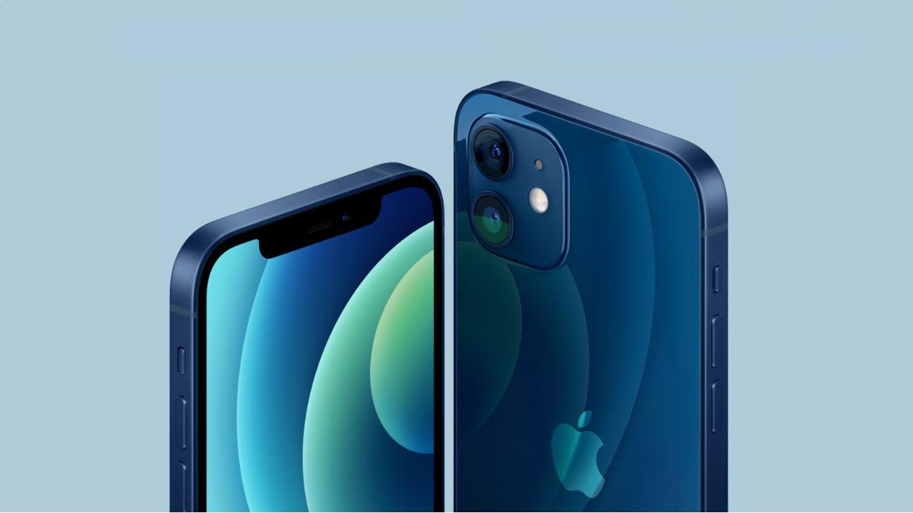 Laterais achatadas do iPhone 12. (Foto: Divulgação/Apple)