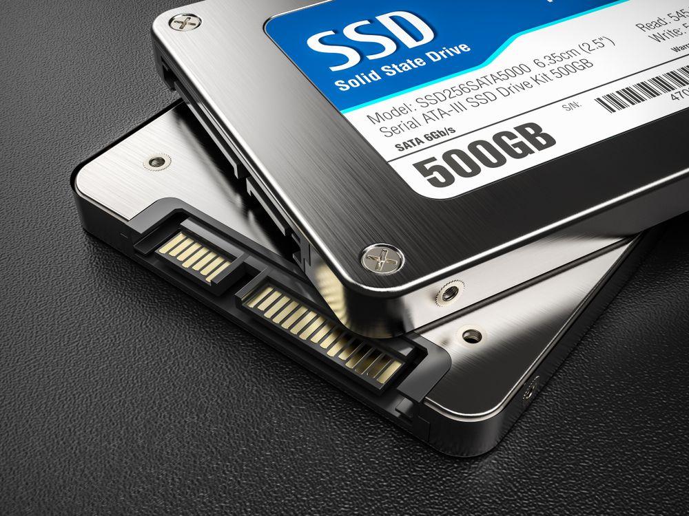 Existem SSDs com as mais diferentes capacidades de armazenamento. (Oleksandr Delyk/Shutterstock)