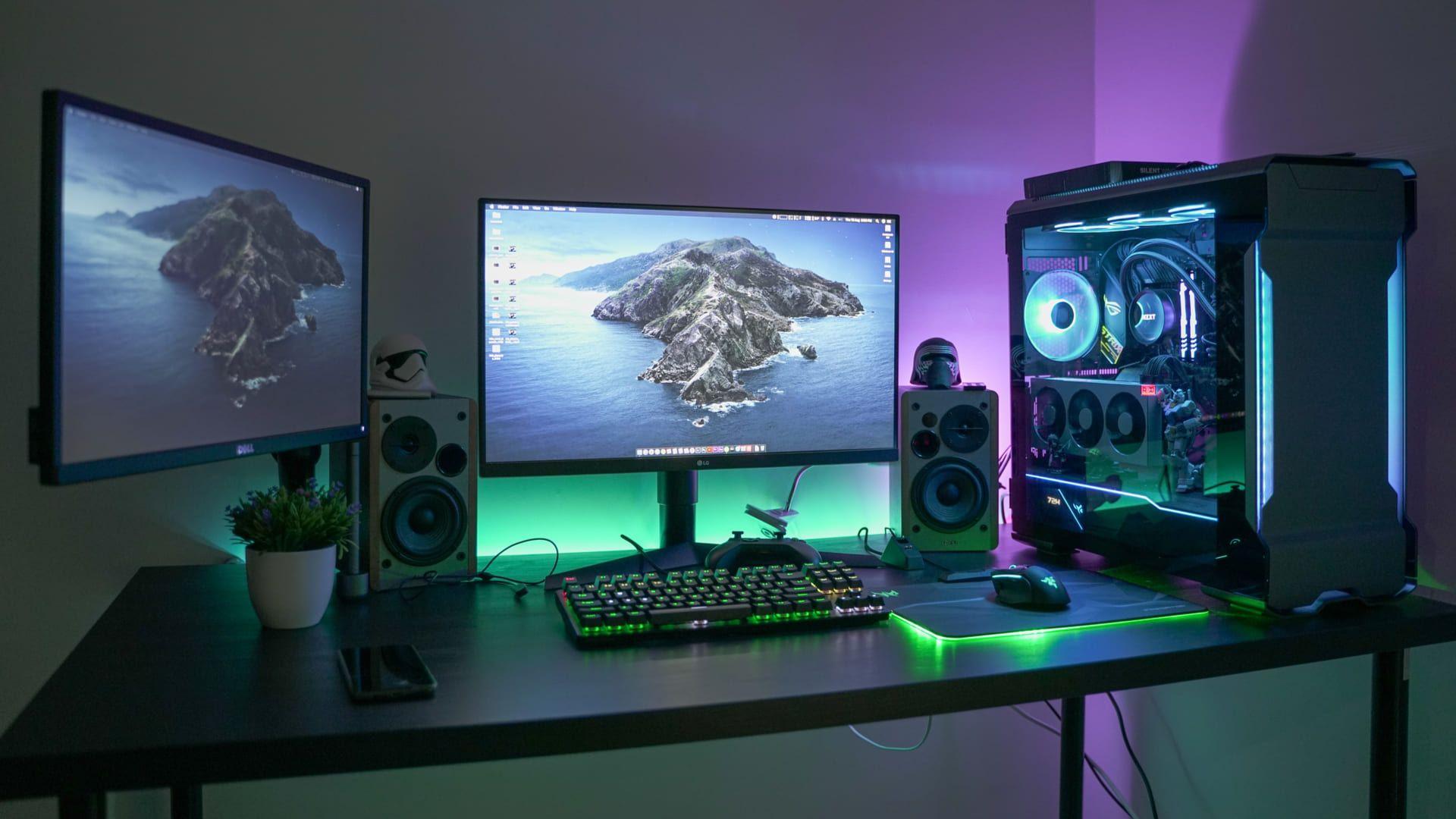 Ter um gabinete composto por LEDs é febre entre o público gamer. (Foto: Syafiq Adnan/Shutterstock.com)