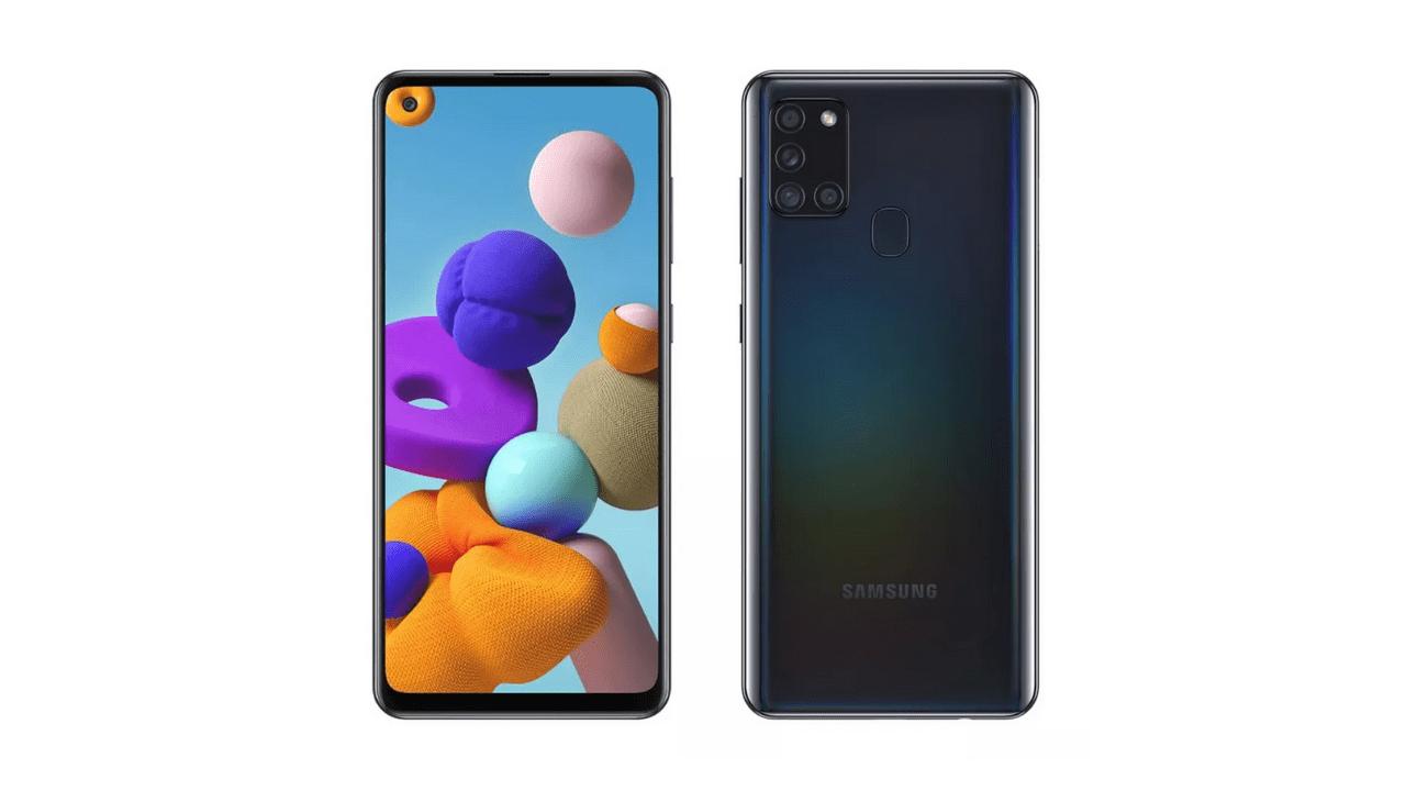 Galaxy A21s. (Foto: Divulgação/Samsung)