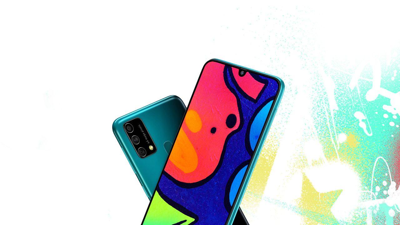 Visual do Galaxy F41. (Foto: Divulgação/Samsung)