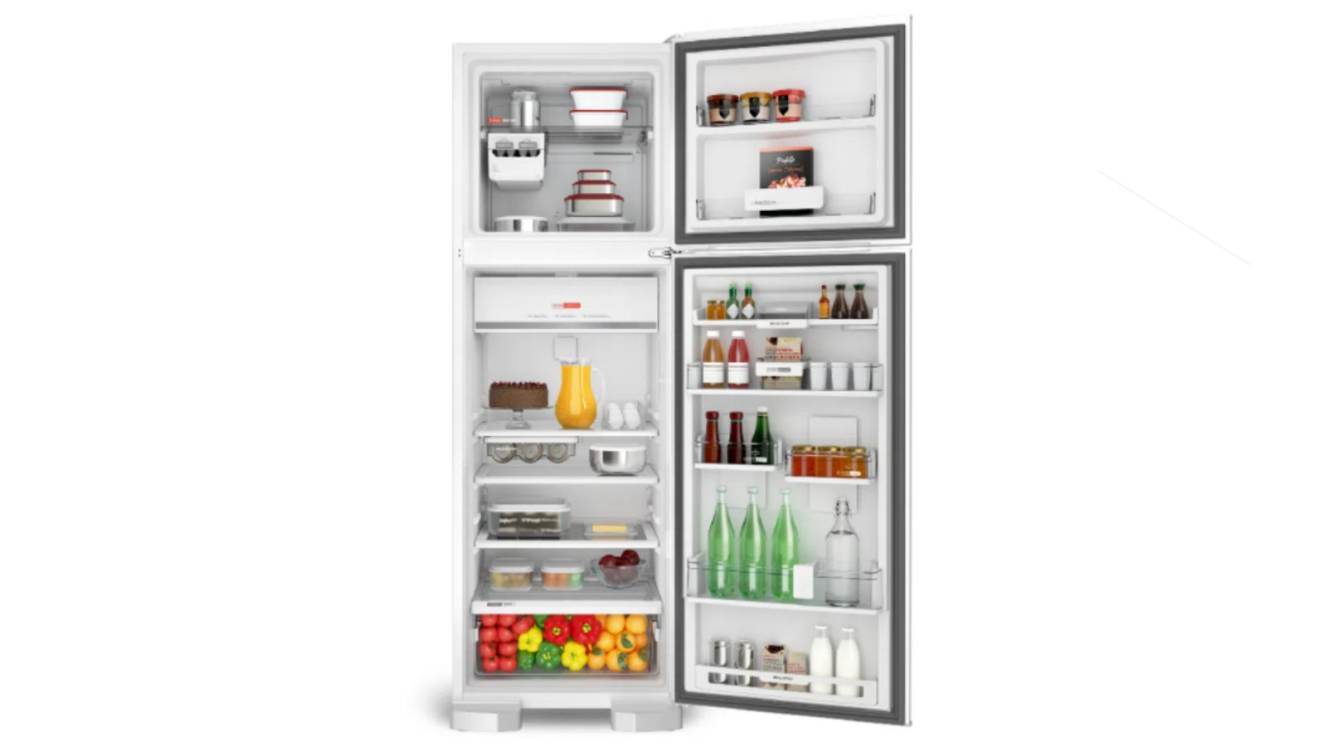 A Brastemp BRM54HB é uma geladeira grande e com capacidade de 400 litros (Imagem: Divulgação/Brastemp)