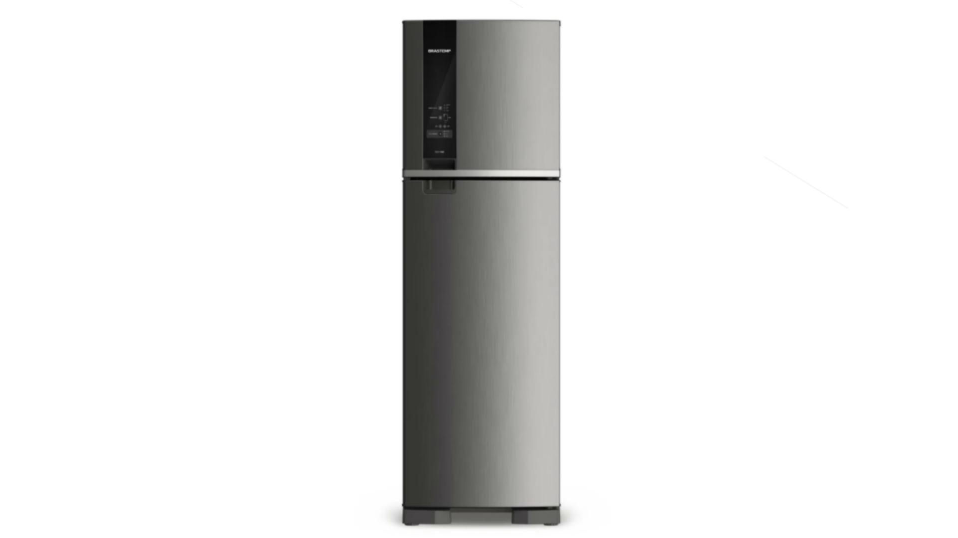 A BRM54HK é a versão em inox da geladeira Brastemp BRM54HB (Imagem: Divulgação/Brastemp)