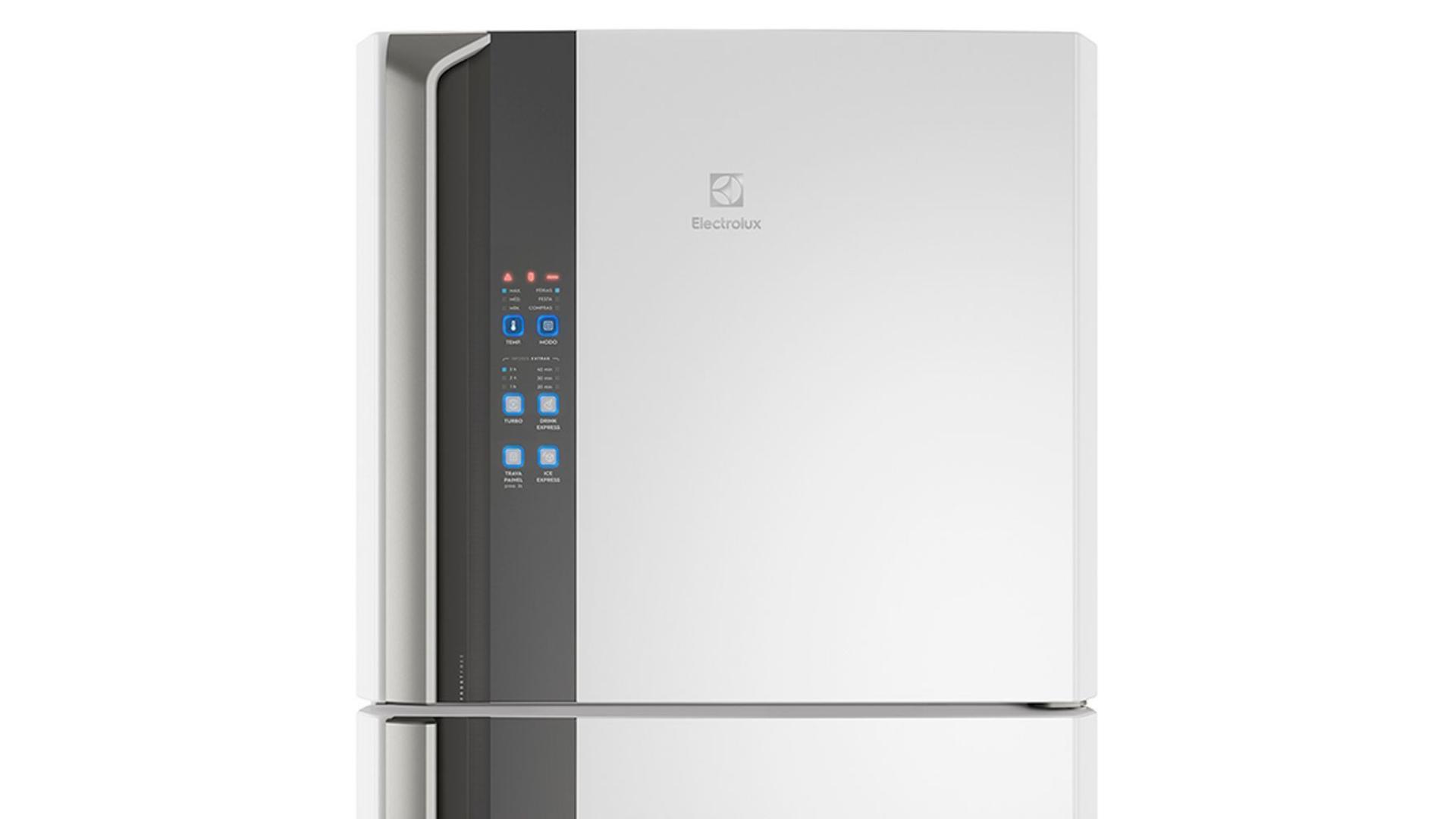 A DF56 da Eletrolux é uma geladeira Frost Free com diversos recursos e funções (Imagem: Divulgação/Electrolux)