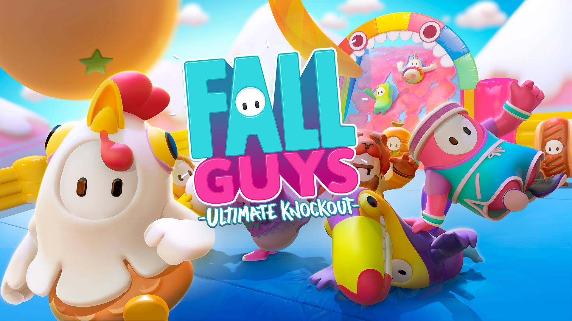Fall Guys traz circuitos com obstáculos desafiadores e divertidos. (Foto: Divulgação/Devolver Digital)