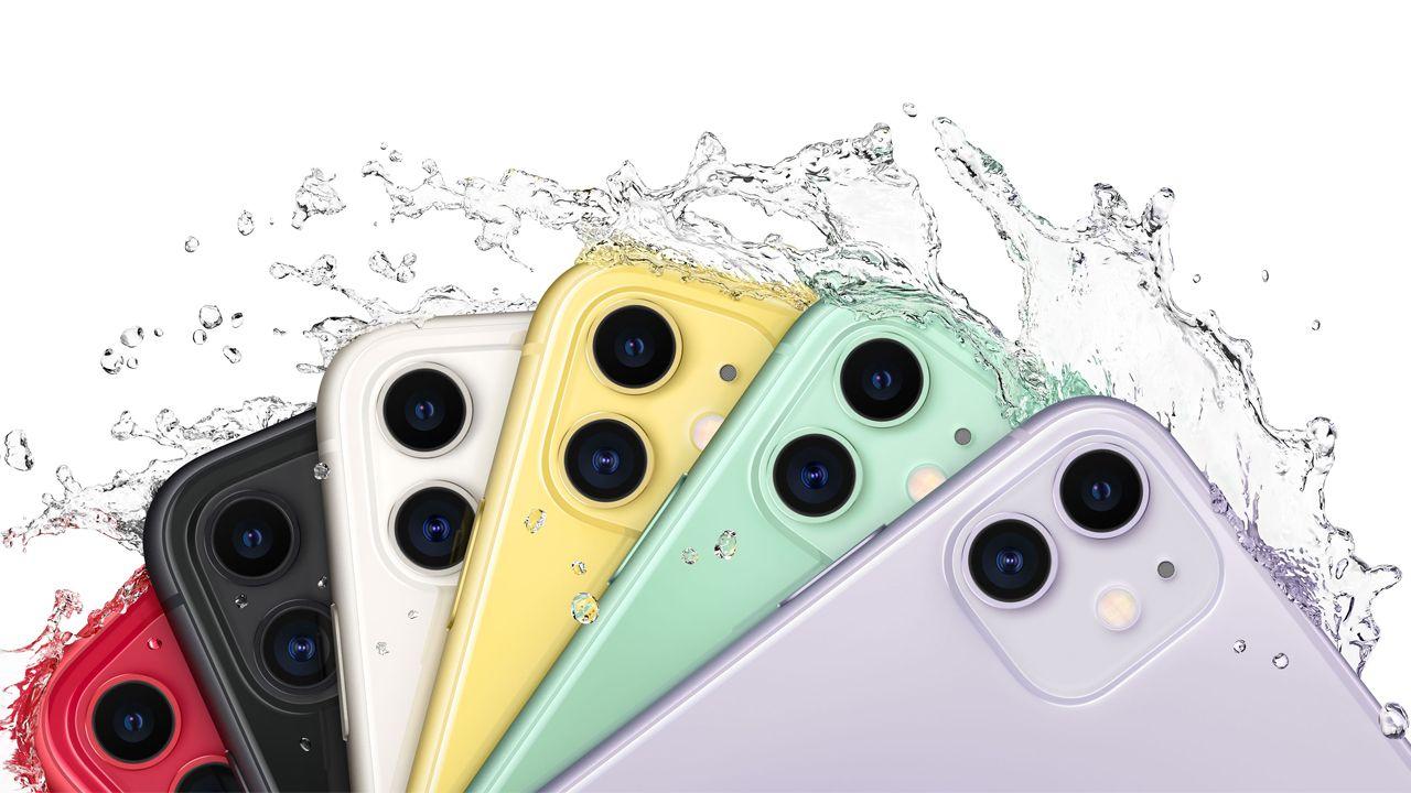Toda a linha do iPhone 11 é à prova d'água e pode até ser mergulhada. (Foto: Divulgação/Apple)