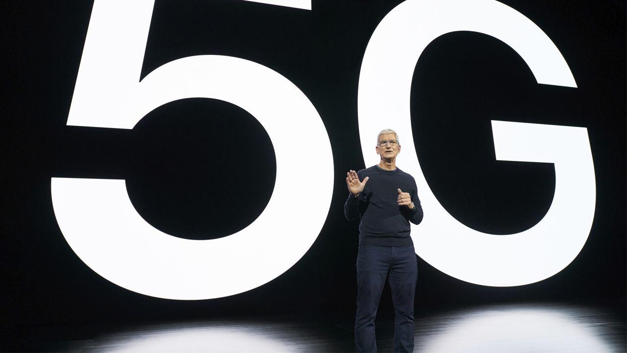 O iPhone 12 Pro tem conexão 5G. (Foto: Divulgação/Apple)