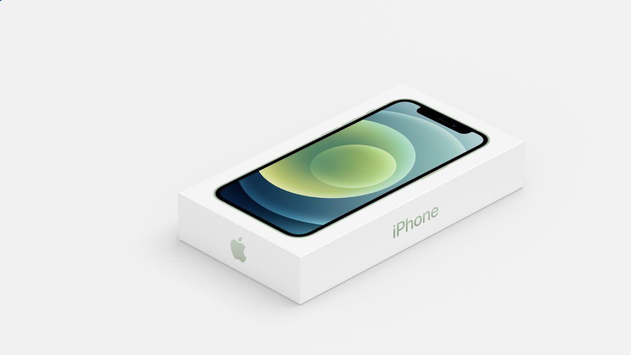 Carregador e fone não acompanharão o iPhone 12 Pro na caixa. (Foto: Divulgação/Apple)