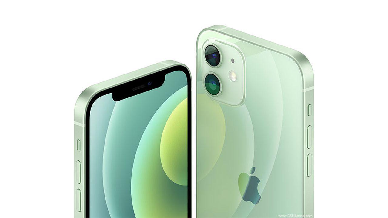 O visual do iPhone 12 Mini lembra os modelos antigos da empresa. (Foto: Reprodução/GSM Arena)