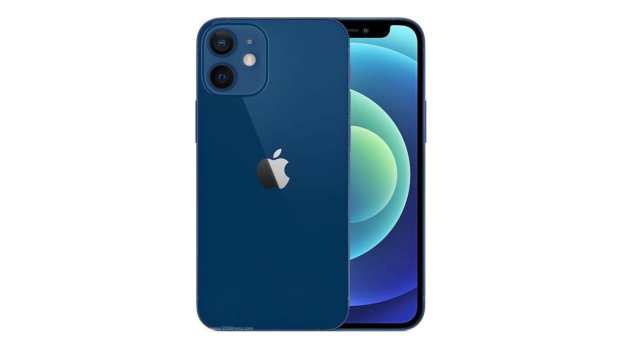 Design do iPhone 12 Mini (Foto: Reprodução/GSM Arena)