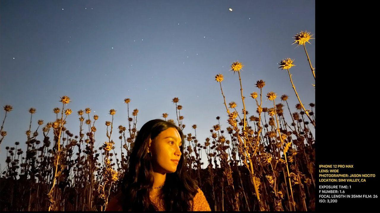 Foto tirada com o modo noturno do iPhone 12 Pro Max. (Foto: Divulgação/Apple)