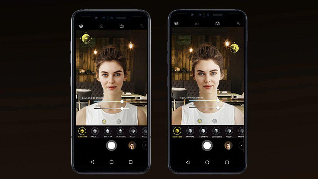O sensor ToG 3D do LG G8s dá ao usuário a possibilidade de controlar o desfoque do fundo das fotos. (Foto: Divulgação/LG)