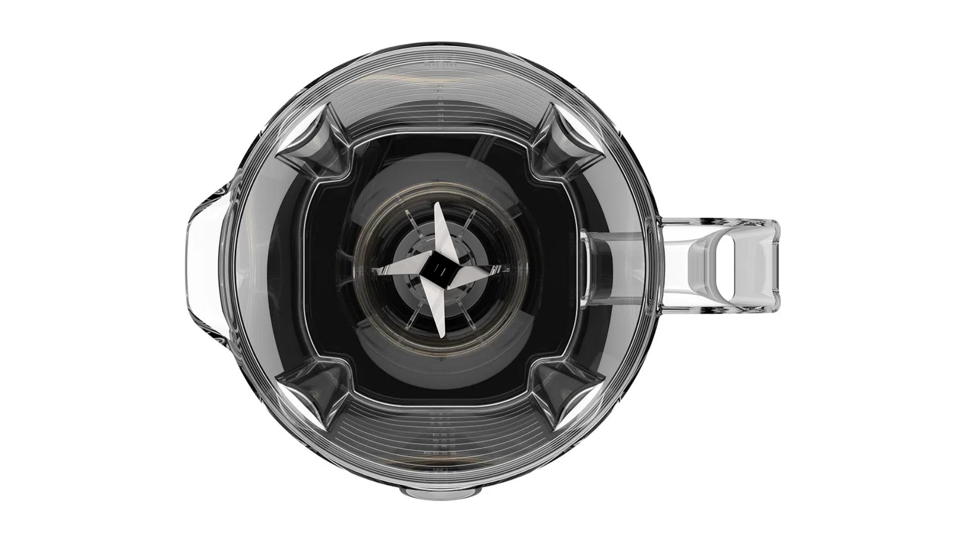 As lâminas do Liquidificador Cadence Robust trituram com eficiência sólidos e líquidos (Imagem: Divulgação/Cadence)
