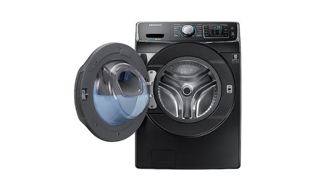 Samsung AddWash, uma lavadora de roupas com 15kg de capacidade. (Imagem:Divulgação/Samsung)