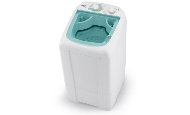 Mueller Popmatic, uma das poucas opções de lavadoras automáticas de 6kgs no mercado. (Imagem:Divulgação/Mueller)