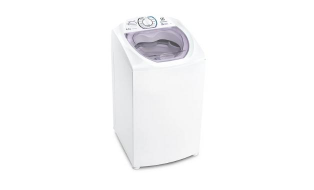 Electrolux Turbo Agitação LT09E, exemplo de lavadora de roupas com capacidade para 8,5kg. (Imagem:Divulgação/Electrolux)