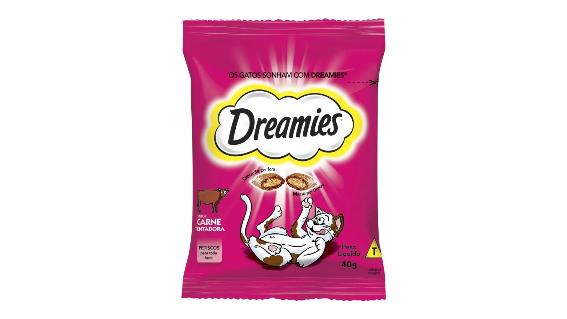 O petisco Dreamies é um dos mais baratos no mercado (Divulgação/Dreamies)