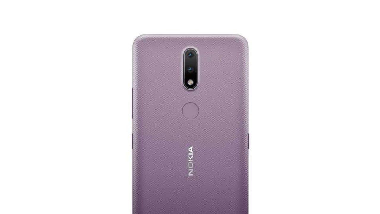 O Nokia 2.4 possui duas câmeras traseiras. (Foto: Divulgação/Nokia)