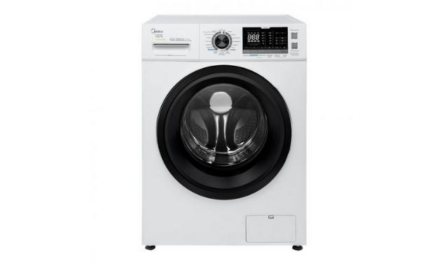 Lava e Seca Midea LSE10B1, lavadora de roupas com 10kg de capacidade e abertura frontal. (Imagem:Divulgação/Midea)