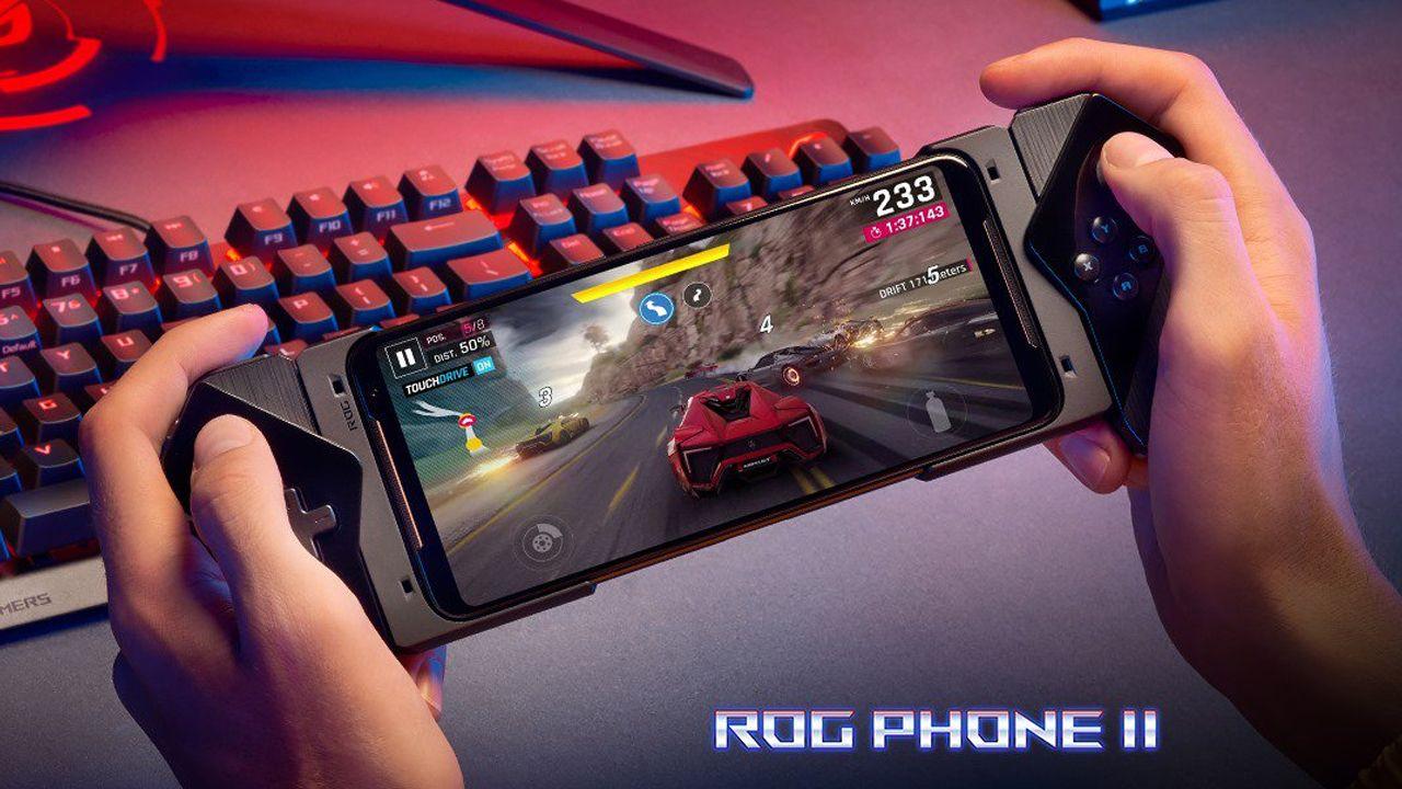 O Rog Phone 2, da Asus, é um dos melhores celulares gamer do mundo. (Foto: Divulgação/Asus)