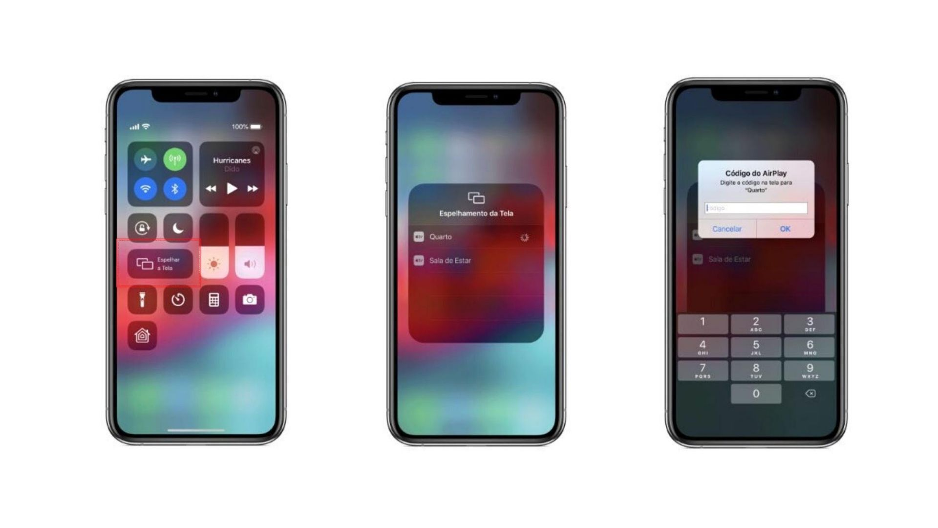 Passo a passo de como conectar iPhone na TV Samsung (Foto: Reprodução/Apple)