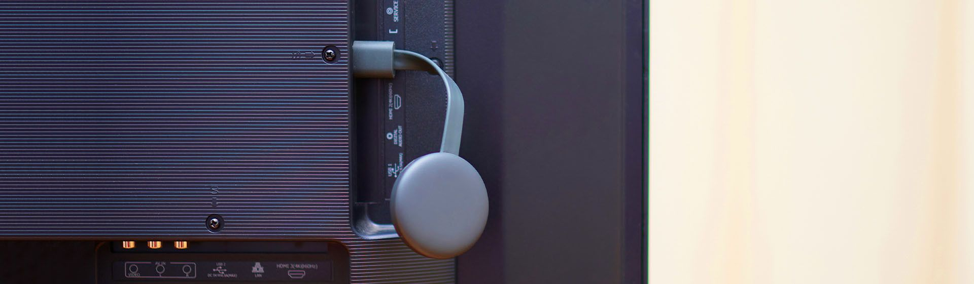 Veja como instalar o Chromecast na TV