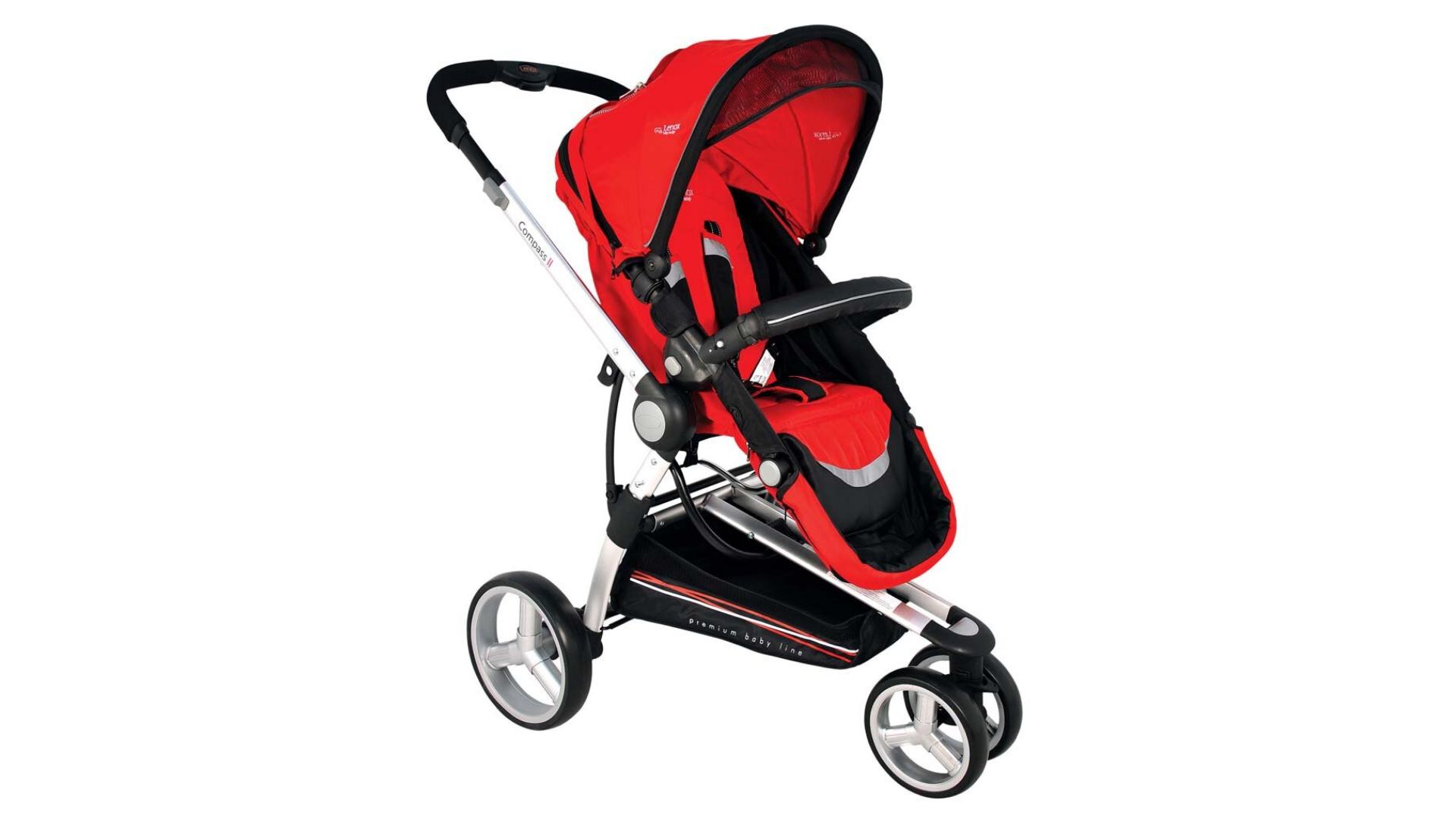 O carrinho de bebê com 3 rodas é aconselhado para pais esportistas (Imagem: Divulgação/Kiddo)