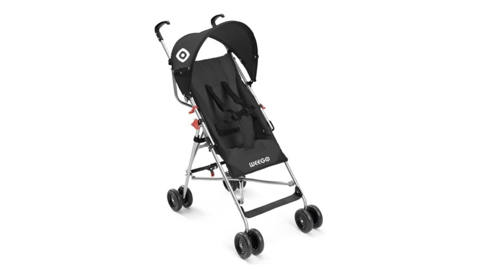 O carrinho de bebê para passeio é um dos mais leves do mercado (Imagem: Divulgação/Multikids)