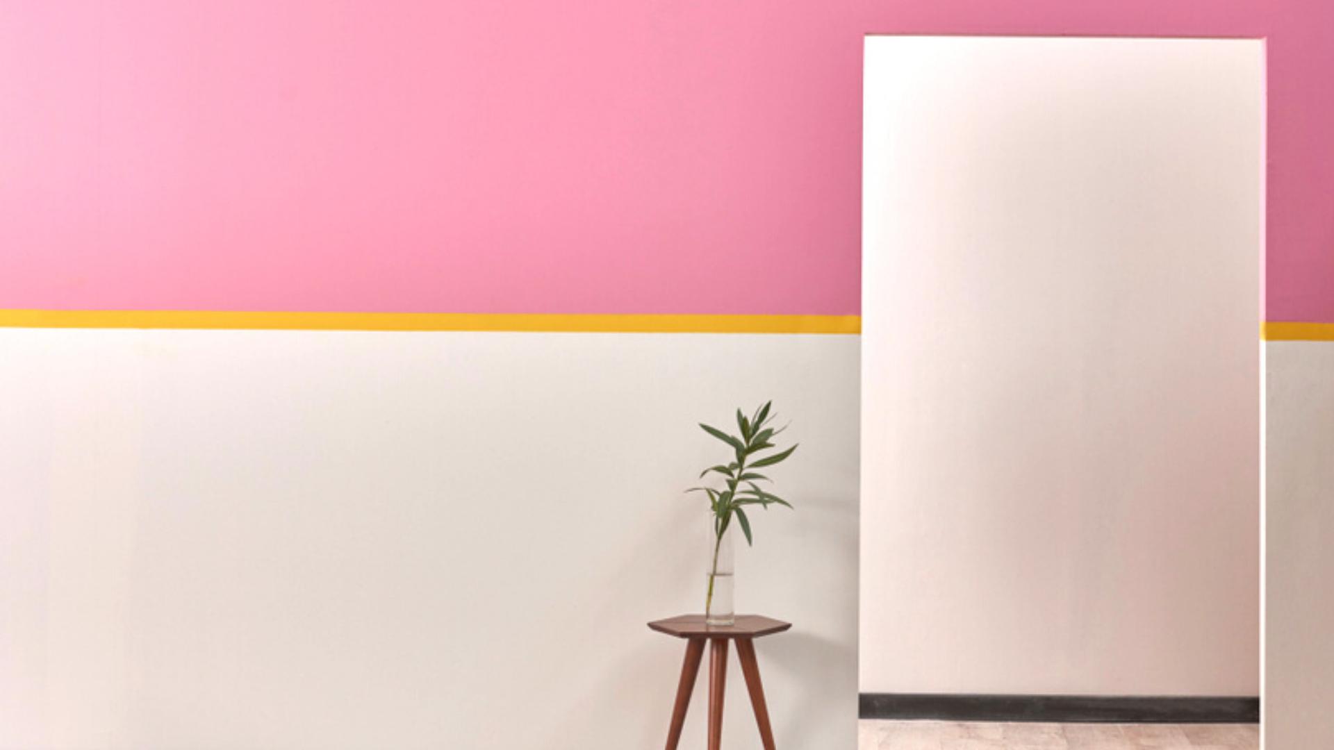 A meia parede serve para demarcar uma área específica (Imagem: Reprodução/Shutterstock)