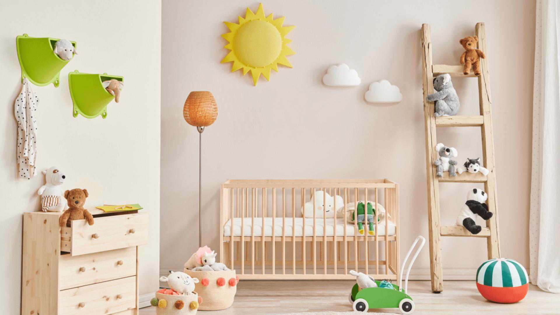 Confira tudo o que você precisa para montar um quarto de bebê! (Imagem: Reprodução/Shutterstock)