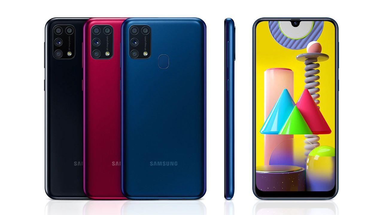 Design do Galaxy M31 (Foto: Divulgação/Samsung)