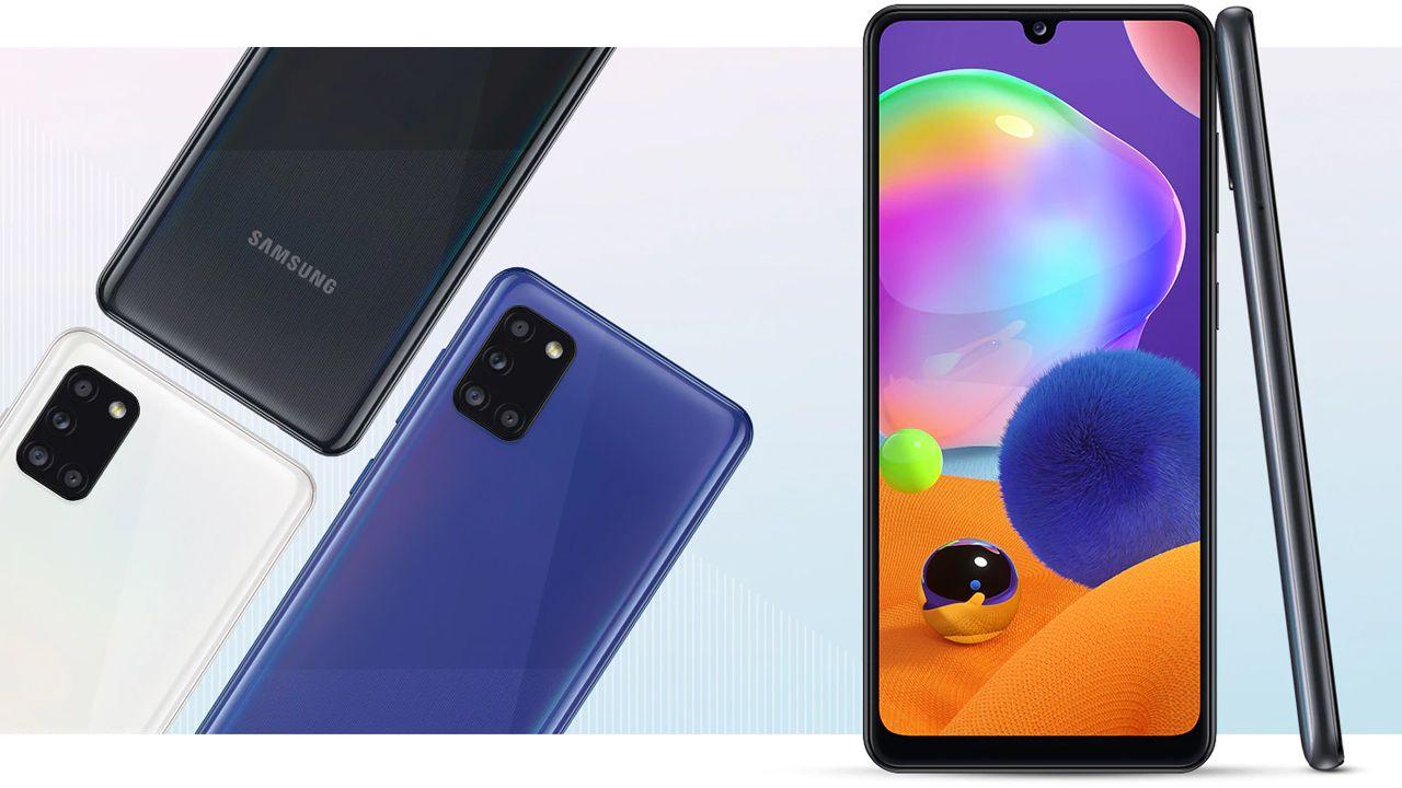 Design do Galaxy A31 (Foto: Divulgação/Samsung)
