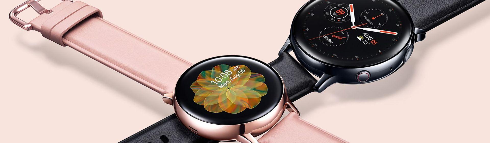 Smartwatch Galaxy Watch Active2 recebe suporte a assistente virtual