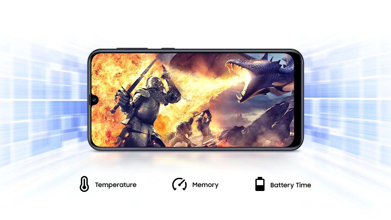 """Os aparelhos possuem o modo """"Game Booster"""" que aumenta a performance em jogos (Foto: Divulgação/Samsung)"""