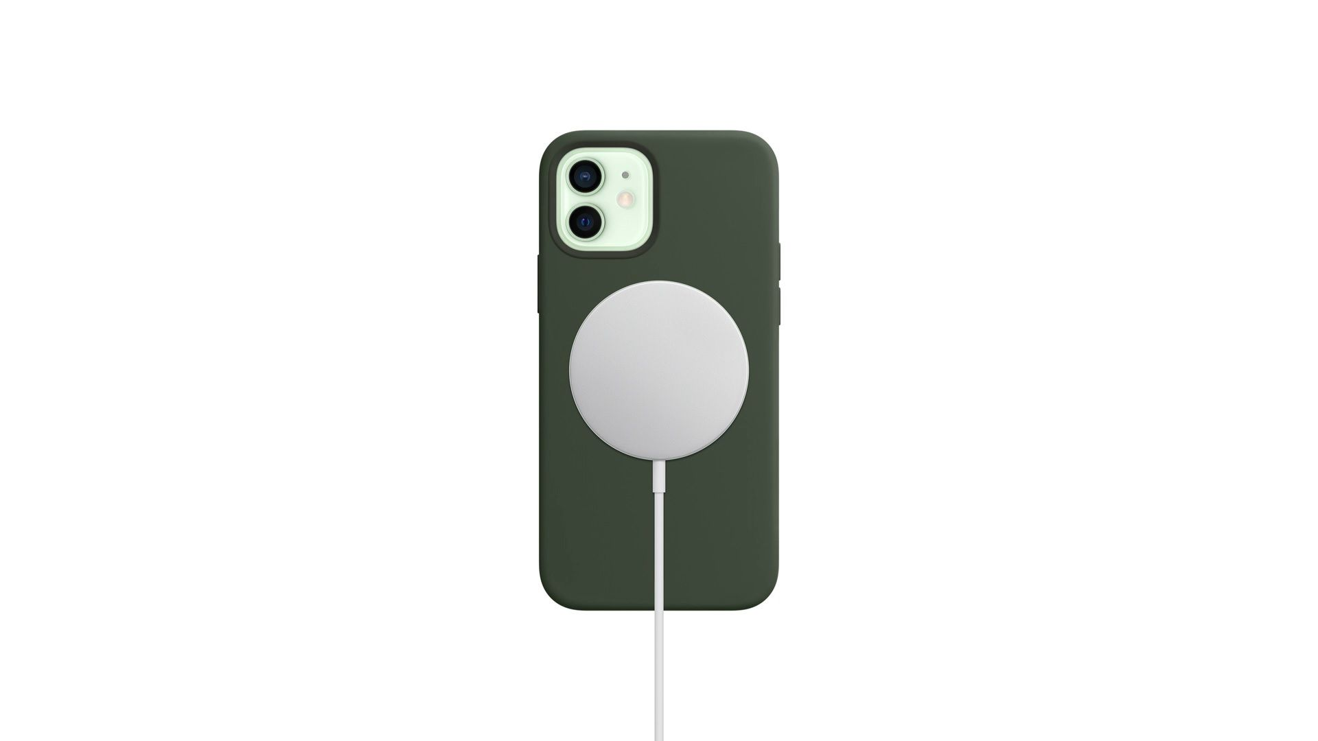 O iPhone 12 conta com carregamento com o recurso MagSafe (Foto: Divulgação/Apple)