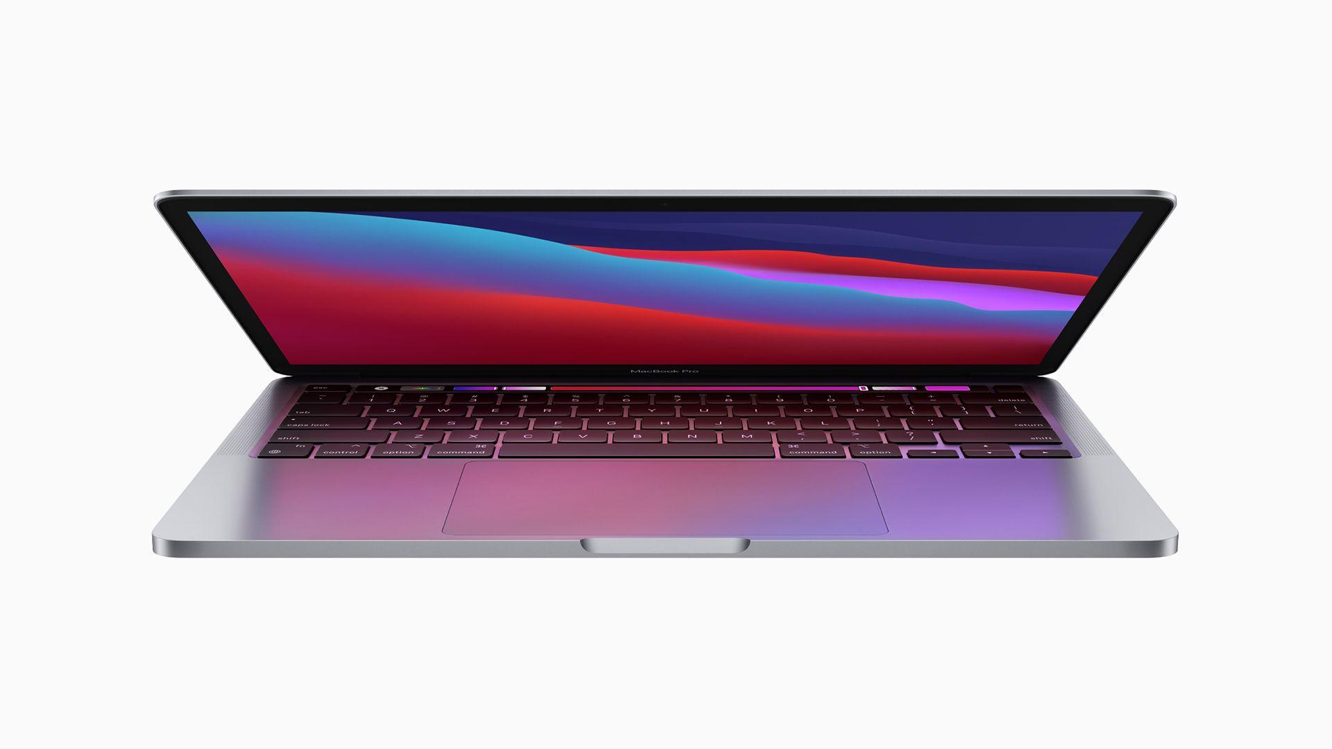 MacBook Pro com Apple M1. (Foto: Divulgação/Apple)
