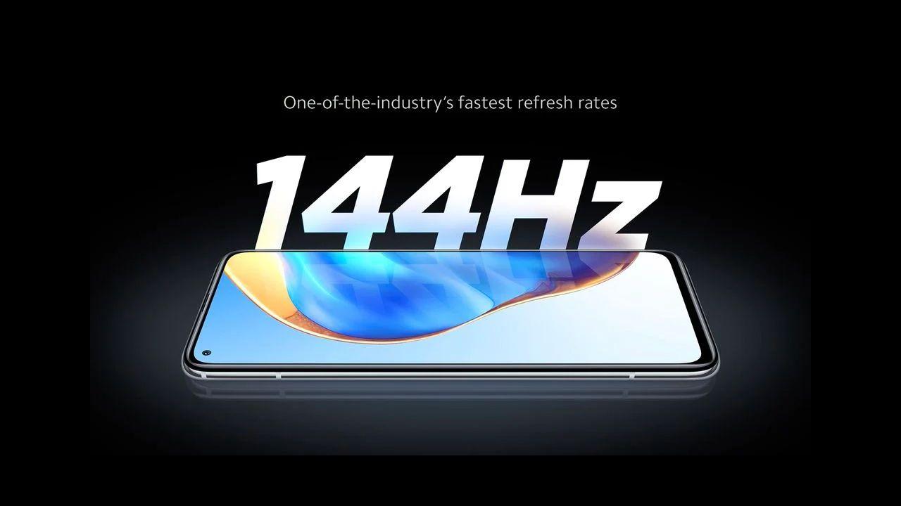 Tela com 144 Hz do Mi 10T e Mi 10T Pro. (Foto: Divulgação/Xiaomi)