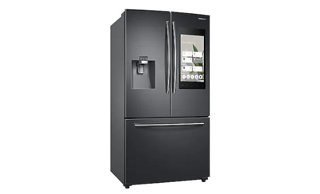 Geladeira Samsung Family Hub, exemplo de eletrodoméstico para sua casa inteligente. (Imagem:Divulgação/Samsung)