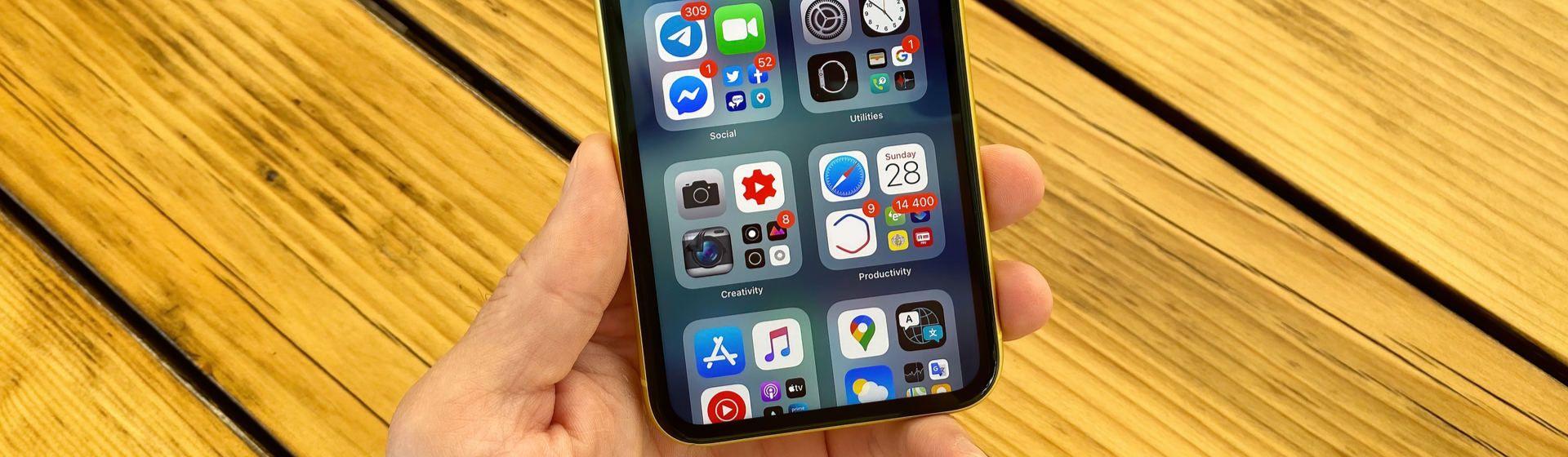 Como criar pastas no iPhone?