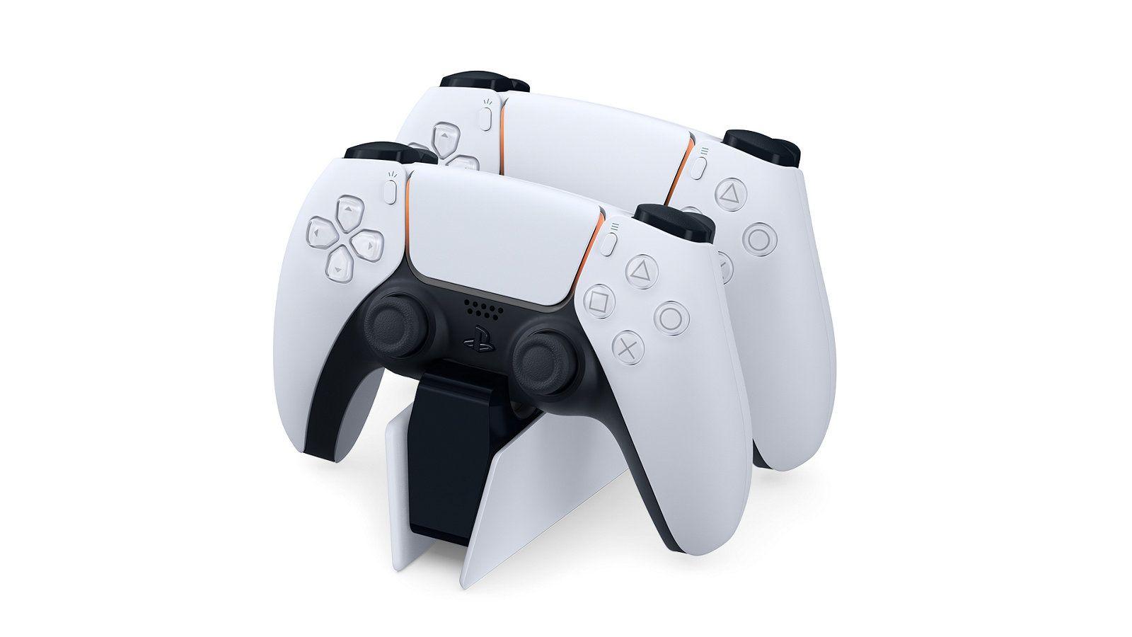 Controle do PS5 se chama DualSense e segue o design do console. (Foto: Divulgação/Sony)