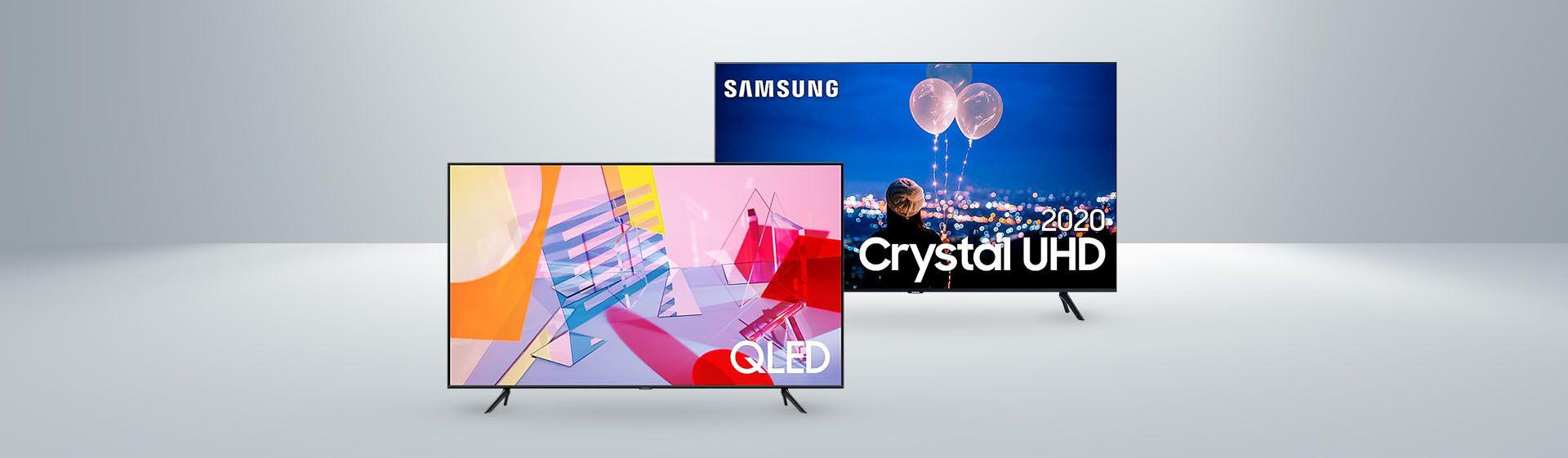 Samsung TU8000 vs Samsung Q60T: qual a melhor TV 4K da marca?