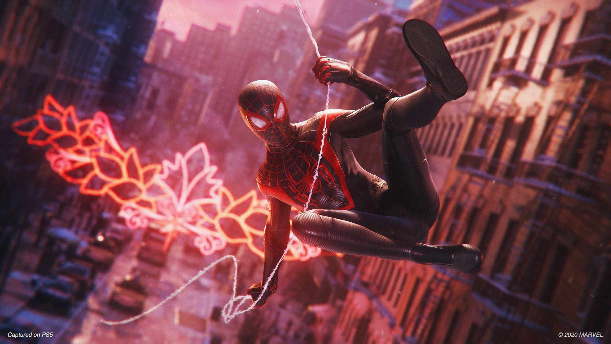 Marvel's Spider-Man: Miles Morales é um dos jogos do lançamento do PS5. (Foto: Divulgação/Marvel)