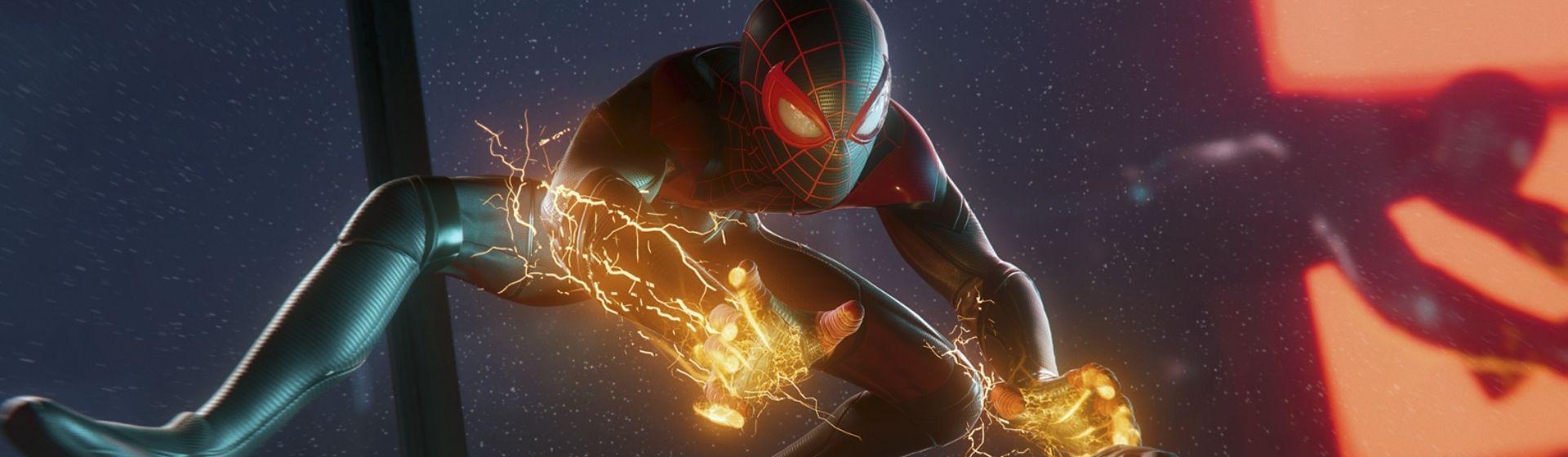 Spider-Man: Miles Morales é o maior lançamento de mídia física no PS5