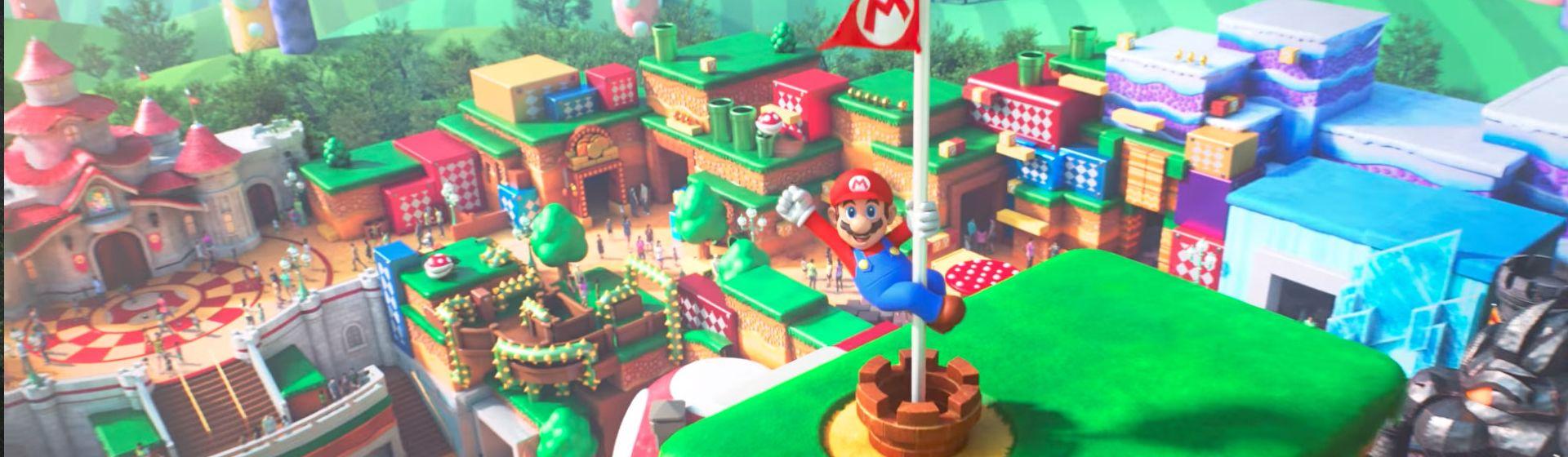 Super Nintendo World abre em fevereiro com atração de Mario Kart