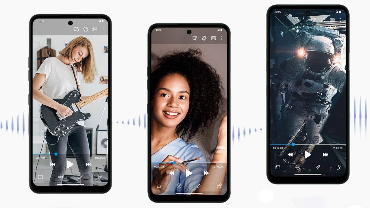 O LG K52 oferece uma boa experiência de áudio e vídeo ao usuário. (Foto: Divulgação/LG)